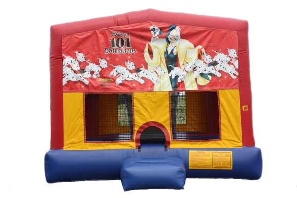 Disney 101 Dalmatians Cruella Bounce House Rental Chicago