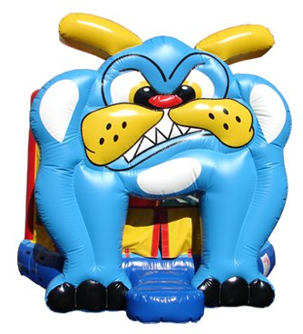 Bulldog Animal Bounce House Rental Chicago
