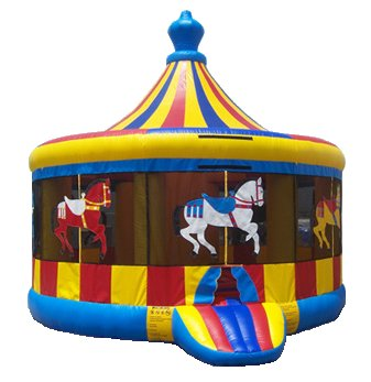 Carousel Horse Bounce House Rental Chicago