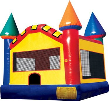 Castle Bounce House Rental Chicago