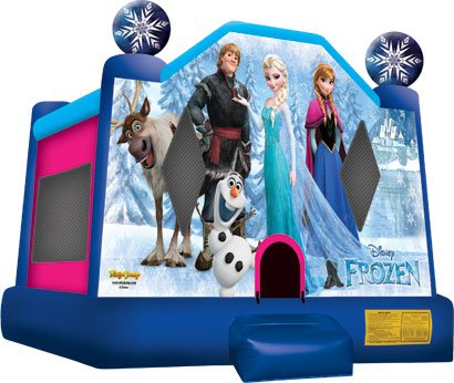 Disney Frozen Bounce House Rental Chicago