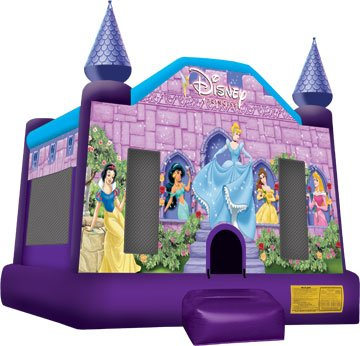 Disney Princess Belle Snow White Cinderella Sleeping Beauty Jasmine Bounce House Rental Chicago