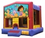 Dora the Explorer Boots Swiper Backpack Jungle Bounce House Rental Chicago