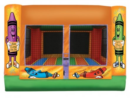 Indoor Crayon Toddler Bounce House Rental Chicago