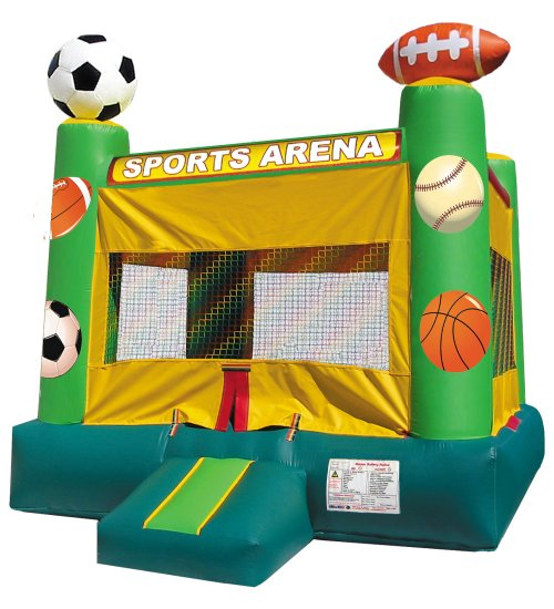 Junior Sports Basketball Baseball Football Soccer Bounce House Rental Chicago