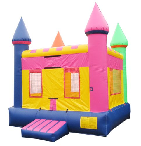Pink Jumping Castle Rental Chicago