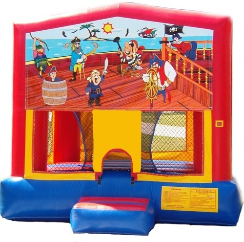 Pirate Ocean Tropical Bounce House Rental Chicago