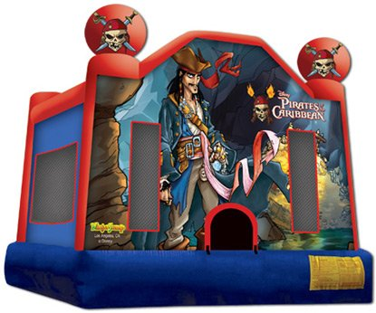 Pirates of the Caribbean Bounce House Rental Chicago
