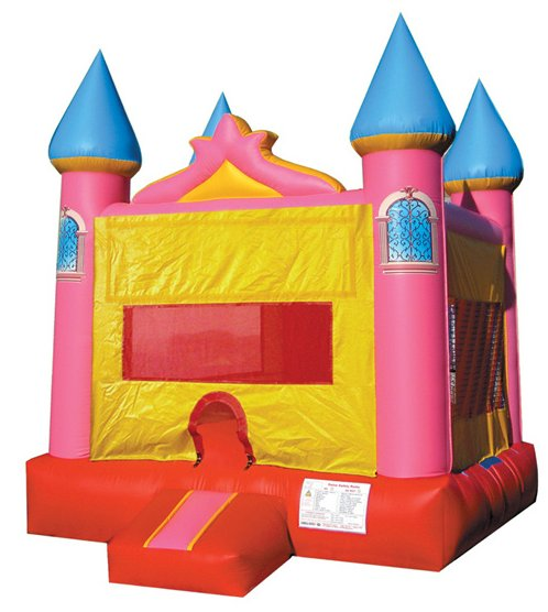 Powder Puff Jumping Castle Bounce House Rental Chicago