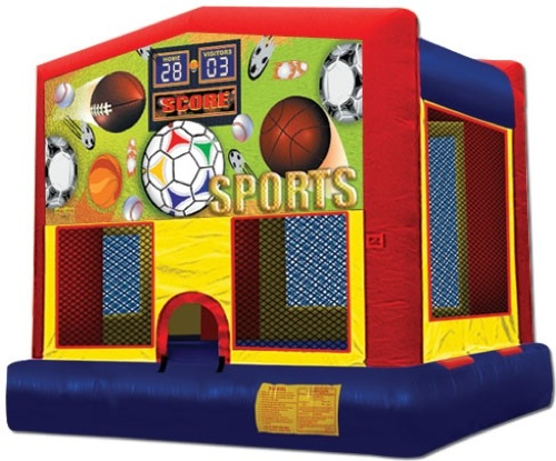 Sports Football Soccer Baseball Basketball Bounce House Rental Chicago