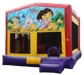 Dora the Explorer Boots Swiper Backpack Jungle Bouncer Slide Combo Rental Chicago