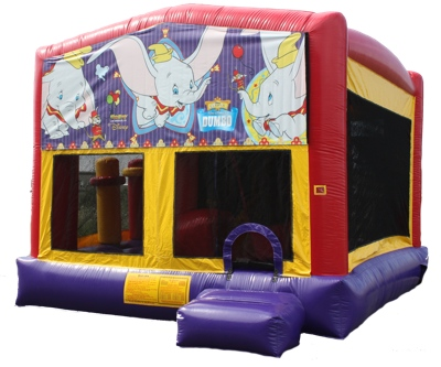 Dumbo Elephant Circus Bouncer Slide Combo Rental Chicago