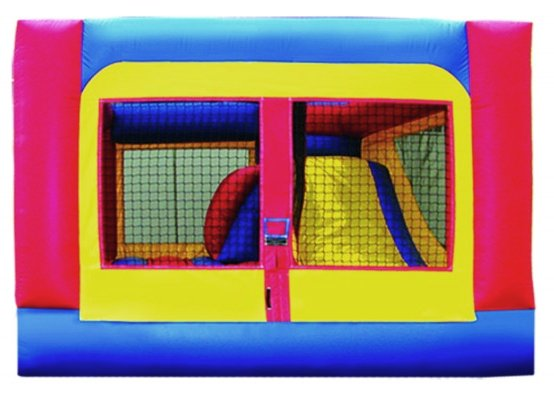 Indoor Jump In The Box Bouncer Slide Combo Rental Chicago