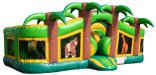 Tropical Toddler Palm Tree Bouncer Slide Combo Rental Chicago