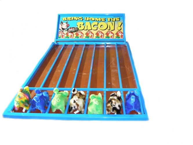 Bring Home The Bacon Carnival Game Rental Chicago