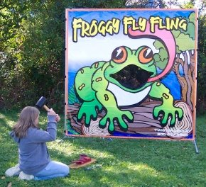 Froggy Fly Fling Carnival Game Rental Chicago