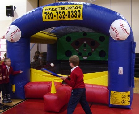 Inflatable T-Ball Carnival Game Rental Chicago