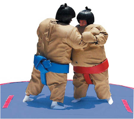 Sumo Wrestling Suits Interactive Game Rental Chicago