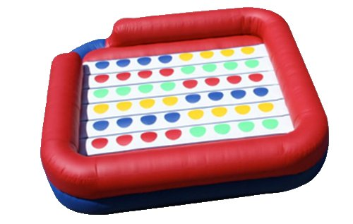 Inflatable Twister Interactive Game Rental Chicago