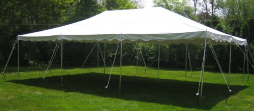 20x30 Center Pole Tent Rental Chicago