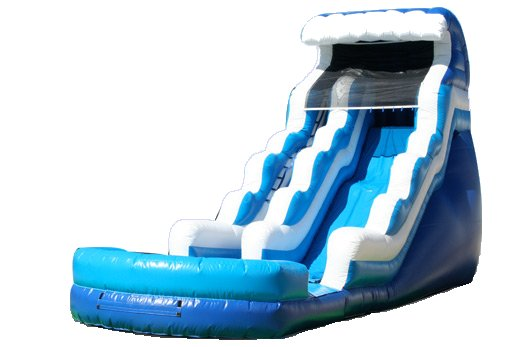 Tsunami Ocean Wave Wet/Dry Slide Rental Chicago