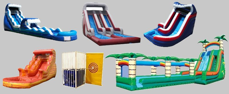 Waterslide and Water Game Rental Chicago